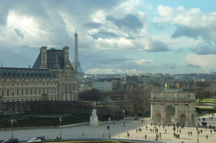 Paris, a half day walking tour