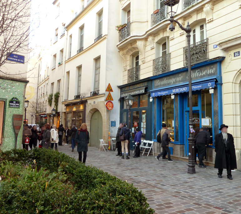 Authentic and Trendy, the Marais